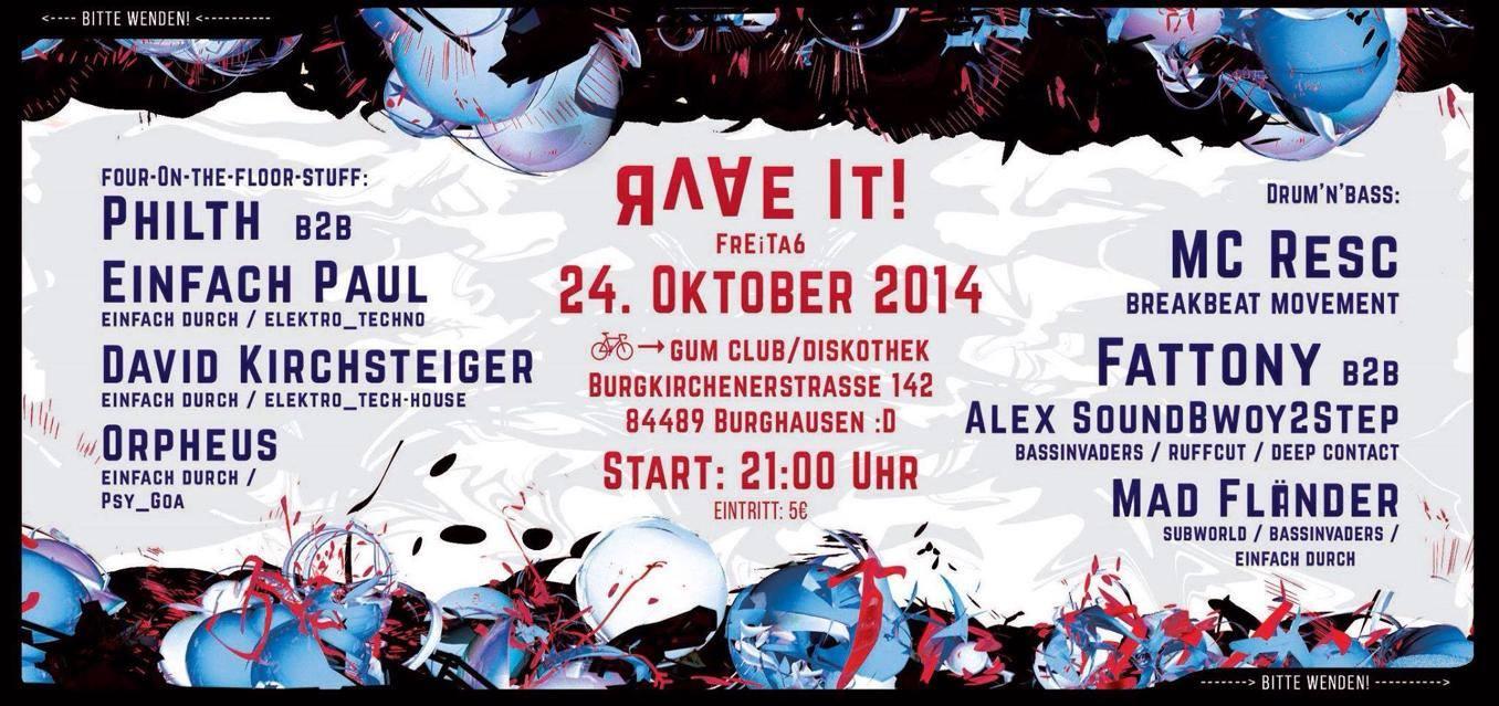 24.10.2014 Rave it 3!