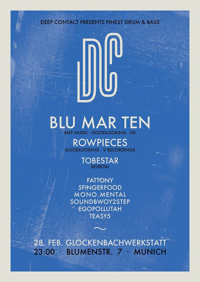 28.02.2015 Deep Contact pres. BLU MAR TEN
