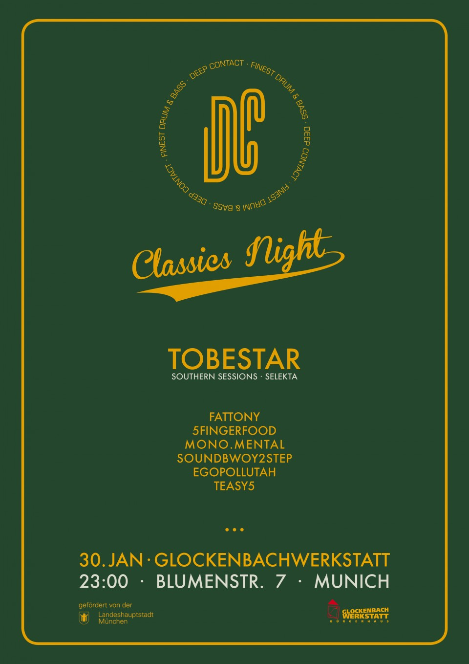 30.01.16 – Deep Contact Classics Night